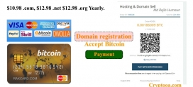 Domain registration with bitcoin in Bangladesh