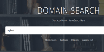 Keep DOMAIN NAME short