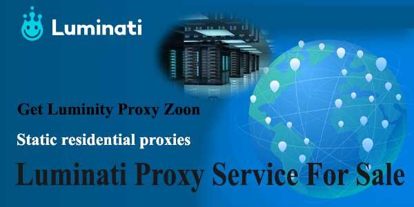 Luminati Proxy Service