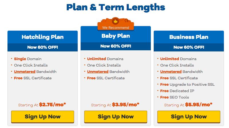 Law Firm Web Hosting - Hostgator - Pricing
