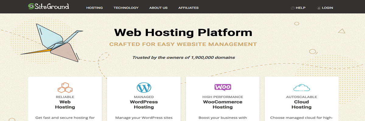 Law Firm Web Hosting Siteground