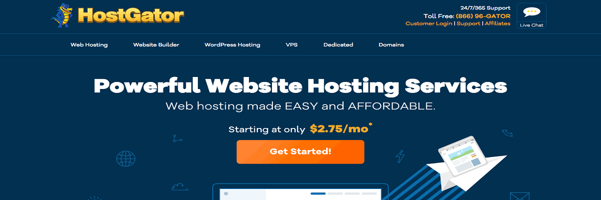 Law firm web hosting - Hostgator - Prices