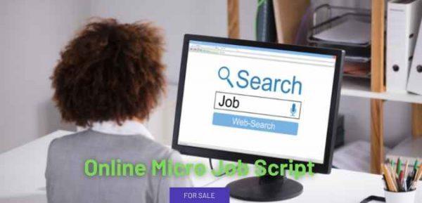 Cheap Online Micro Job Script